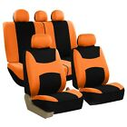 Car Seat Covers Light Breezy Flat Cloth Seat Covers Full Set Universal Fit