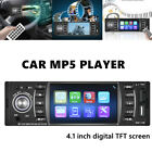 Car 12V 4.1 inch High Definition Touch Screen Digital MP5 Player Radio Stereo