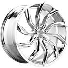 4ea 22 Lexani Wheels Matisse Chrome Rims S10