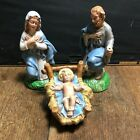 Vintage Atlantic Mold Nativity Holy Family Joseph Mary Baby Jesus ce