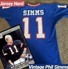 Phil Simms 1986 New York Giants Mitchell & Ness Men's Authentic Jersey 44 Large