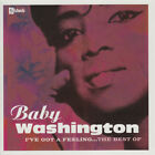 RARE - THE BEST OF BABY WASHINGTON - SOUL / R&B CD - Stateside