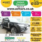 2014 GREY RANGE ROVER 44 SDV8 AUTOBIOGRAPHY DIESEL AUTO CAR FINANCE FR 133 PW