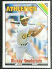 Rickey Henderson Cards, Rookie Card and Autographed Memorabilia Guide 17