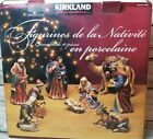 Nativity Set Vintage Kirkland 3 Kings Mary Joseph Jesus Christmas Decorations