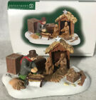 Dept 56 Village Accessory SETTING UP THE NATIVITY 807247 IN BOX