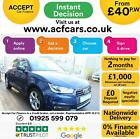 2015 BLUE AUDI A1 SPORTBACK 16 TDI 116 SPORT DIESEL 5DR CAR FINANCE FR 40 PW