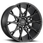 4ea 20 Niche Wheels M183 Staccato Matte Black Rims S6