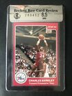 1984-85 Star Rookie Card #202 Charles Barkley  RC HOF (BGS) 8.5 NM-MT+ Celebrity