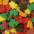COOKIE DECORATIONS CLOSE OUT SALE FREE SHIPPING 2 LBS AUTUMN FALL LEAVE SHAPES