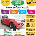 2014 RED RANGE ROVER SPORT 44 SDV8 AUTOBIOGRAPHY DYN CAR FINANCE FR 146 PW