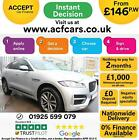2019 SILVER JAGUAR F PACE 20 R SPORT AWD AUTO ESTATE CAR FINANCE FR 146 PW