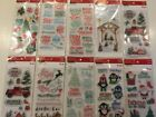 Recollections Christmas Clear Stamp Set YOU PICK NEW