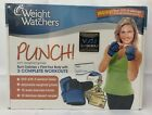 +Weight Watchers Punch Adjustable Weighted Gloves DVD Exercise Tracker Kit NIP