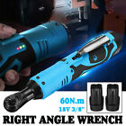 Rechargeable 38 Cordless Electric Ratchet Right Angle Wrench 8000mah Battery