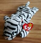 TY Beanie Babies- BLIZZARD WHITE TIGER 1996 PVC Pellets (Variations See Photos)