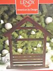Lenox First Blessing Nativity CRECHE Manger Stable  NEW IN BOX