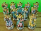 Vintage 1995 Set of 12 Chadwick Miller Angel of the Month Birth Angels Figurines