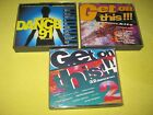 The Best of Dance 91, Get On This Volume One & Two 3 Albums 8 CDs Dance House
