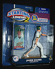 Jason Giambi MLB Action Figures Oakland Athletics STARTING LINEUP 2 New Sealed