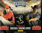 1-2011 PLAYOFF CONTENDERS BASEBALL HOBBY BOX