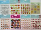 Jolees Boutique Scrapbooking Craft Stickers Lot FLOWERS Mums Daisies Foliage
