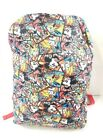 Disney Parks Mickey and Friends Expression Comic Strip Backpack Book Bag Retired