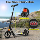ANCHEER Adult Scooter Kid Scooter Kick Folding 3 Adjustable Height 2 Big Wheels
