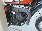 1975 Yamaha DT250 Enduro 250cc parting out exhaust pipe expansion chamber