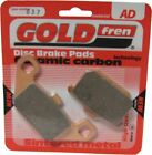 Kawasaki GTR 1000  ZG1000A12  Brake Disc Pads Rear R/H Goldfren 1997