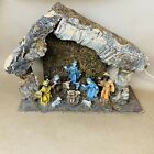 Vintage Fontanini Depose MADE IN ITALY Nativity Set 11 PIECES
