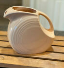 FIESTA WARE Apricot- Peach Large Disc Pitcher Excellent Condition
