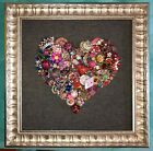 Vintage Jewelry Mosaic Rooster Rainbow Of Love