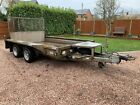 Ifor Williams Gx106 Trailer Plant Mini Digger Dumper Tractor Builder Landscaper