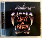 Raven - Life's A Bitch OOP Metal Mayhem Records Release!