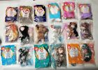 PICK 5 TY Teenie Beanie Babies McDonald's NEW in bag ZIP FLIP CHIP IGGY SPRINGY