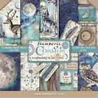 Stamperia Double Sided Paper Pad 8 x 8 Cosmos Nature  Astronomy