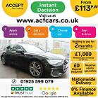 2019 GREY AUDI A6 AVANT 20 TDI 201 S LINE DIESEL AUTO CAR FINANCE FR 113 PW