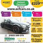 2017 BLACK MERCEDES C63 S 40 AMG PREMIUM 503 BHP COUPE CAR FINANCE FR 229 PW