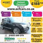 2016 BLACK RANGE ROVER 30 TDV6 VOGUE SE DIESEL AUTO 4X4 CAR FINANCE FR 188 PW