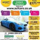 2019 BLUE BMW Z4 M40i 30 PETROL AUTO 2DR CONVERTIBLE CAR FINANCE FR 171 PW