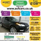 2014 BLACK RANGE ROVER SPORT 30 SDV6 HSE DIESEL AUTO CAR FINANCE FR 138 PW