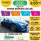 2017 BLUE BMW 640D 30 M SPORT DIESEL AUTO 2DR COUPE CAR FINANCE FR 133 PW
