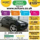 2015 BLACK PORSCHE CAYENNE 30 D V6 S DIESEL AUTO ESTATE CAR FINANCE FR 125 PW