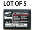 5x Original OEM Samsung A127 T509 T509S R500 Battery AB503442BA LOT OF 5