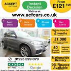 2015 GREY BMW X5 30 XDRIVE40D M SPORT DIESEL AUTO 4X4 CAR FINANCE FR 121 PW