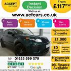2017 GREEN RANGE ROVER EVOQUE 20 TD4 180 HSE DYNAMIC CAR FINANCE FR 117 PW