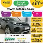 2016 GREY RANGE ROVER EVOQUE 20 TD4 180 HSE DYNAMIC 4WD CAR FINANCE FR 117 PW