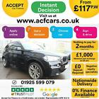 2014 BLACK BMW X5 30 XDRIVE30D M SPORT 7 SEAT DIESEL AUTO CAR FINANCE FR 117PW