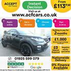 2016 BLACK LAND ROVER DISCOVERY SPORT 20 TD4 HSE BLACK CAR FINANCE FR 113 PW